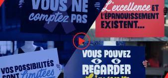 Le Mans Université a travaillé sur sa communication de marque, notamment via une vidéo, au moment de son changement d'identité. //©Le Mans Université