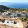 Vue de la plate-forme Myrte, au bord de la baie d'Ajaccio // DR