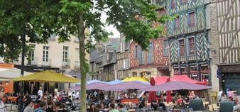 Place Ste Anne à Rennes ©Virginie Bertereau