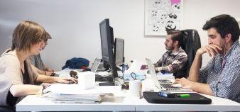 La génération Y ne veut plus travailler dans un bureau classique, privilégie des espaces de travail collectif et considère que l'espace de travail est déterminant dans le choix du futur employeur. //©Digital Village