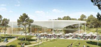 Le futur campus de Thecamp à Aix-en-Provence //©thecamp