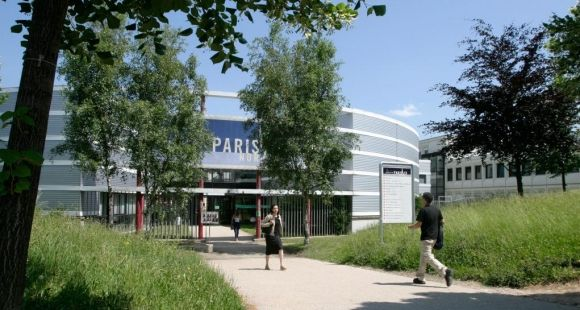 Paris 13 Nord - Extérieur - Entrée principale © Myr Muratet