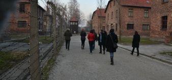 Formation des enseignants à l'histoire de la Shoah : visite du camp d'Auschwitz //©Isabelle Dautresme