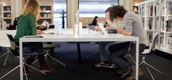 Mission U proposera à la fois des cours en ligne et en présentiel. //©plainpicture/Hollandse Hoogte/Amaury Miller