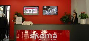 Skema a inauguré en 2014 son nouveau campus chinois à ses couleurs, à Suzhou, près de Shanghai //©Etienne Gless