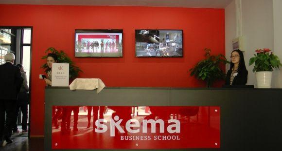 Skema a inauguré en 2014 son nouveau campus chinois à ses couleurs, à Suzhou, près de Shanghai