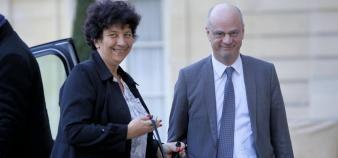 Frédérique Vidal, à l'Enseignement supérieur, et Jean-Michel Blanquer, à l'Education nationale, sont confirmés dans leur fonction pour ce premier gouvernement Jean Castex. //©Nicolas Tavernier / R.E.A