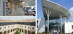 Montpellier, Pau et Rennes ont toutes trois déposé leur dossier de candidature Idex-Isite le 29 novembre 2016. //©U. Montpellier / U. Pau / U. Rennes 2