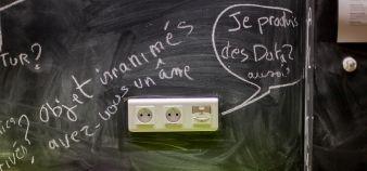 L'enseignement supérieur ne se transforme pas que sous la seule influence du numérique, selon Hervé Dumez, Aude Deville et Samia Ghozlane. //©Inria / Photo S. Borghi