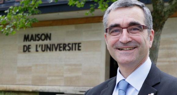 Alain Bonnin, président de l'université de Bourgogne