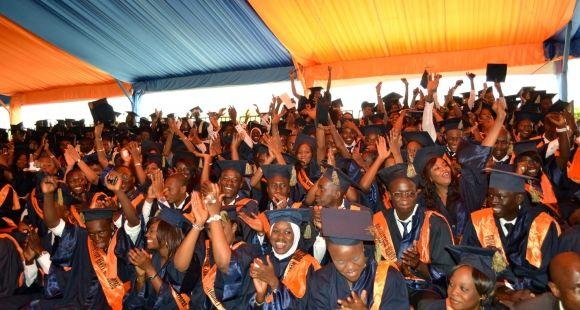 Les élèves de l'ISM de Dakar.