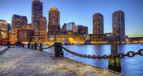 Port de Boston, Massachusetts, Etats-Unis. (credit: istockphoto)