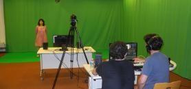 L'université a investi 40.000 euros dans la création d'un studio audiovisuel. //©Université du Maine.
