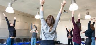 Grenoble Ecole de Management offers mindfulness workshops to all its students. //©GEM