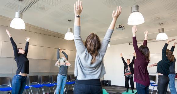 """Le centre de développement personnel et managérial de GEM propose à l'ensemble de ses étudiants des ateliers de """"pleine conscience""""."""