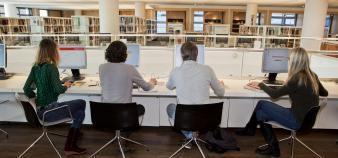 Deloitte France conseille les établissements d'enseignement supérieur dans leurs démarches de transformation digitale et d'innovation pédagogique. //©plainpicture/Hollandse Hoogte/Amaury Miller