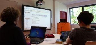 Pour Mélanie Ciussi, les nouvelles technologies ont leur utilité dans les dispositifs d'apprentissage mais ne peuvent à elles seules redonner du sens aux connaissances dispensées aux étudiants. //©D. Dauvergne