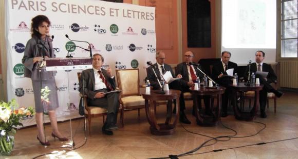 """Fondation """"Paris sciences et lettres"""" : cinq grandes écoles s'unissent dans le Quartier latin"""
