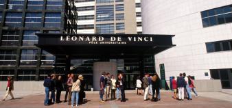 Pôle universitaire Léonard de Vinci //©Pôle universitaire Léonard de Vinci