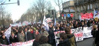 Manifestation parisienne le 19 février