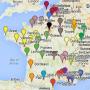 Universités - Ecoles - Carte de France des regroupements universitaires - été 2014