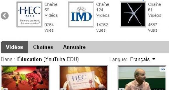 YouTube Edu : une nouvelle vitrine pour l'enseignement supérieur
