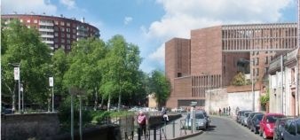 Les maquettes du futur bâtiment de Toulouse School of Economics //©UT1