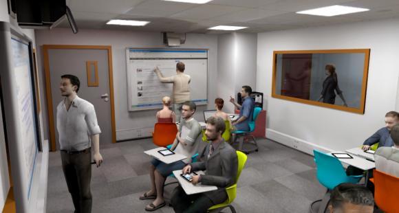 La salle de classe du futur selon GEM - DR