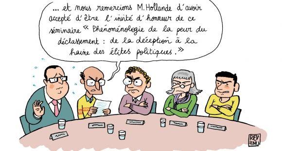 Baromètre EducPros 2016 - Moral des personnels de l'enseignement supérieur et de la recherche - Déception quinquennat François Hollande