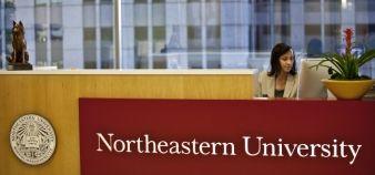 À l'université Northeastern, le microlearning est testé via Twitter, Instagram, Facebook et Snapchat. //©JOHN W. ADKISSON/The New York Times-REDUX-REA