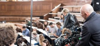 University Paris 1 Panthéon-Sorbonne hosted the shooting of some scenes for the movie Tamara 2, by Alexandre Castagnetti, which will be released in July 2018. // © Pascal Levy / Panthéon-Sorbonne