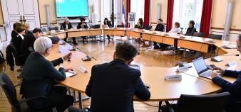 Le rapport du comité de suivi de la loi ORE remis à Frédérique Vidal préconise des pistes d'aménagement pour Parcoursup. //©©MESRI/xrpictures