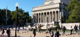 L'université de Columbia (New-York / Etats-Unis) // ©ColumbiaColumbia University (New York) has launched a program called Safe Haven. // © columbia
