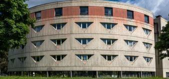 Il manquerait 150.000 places au parc immobilier universitaire français, ici à Grenoble, pour combler les besoins des étudiants. //©Francois HENRY/REA