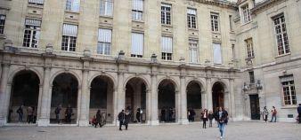 L'université Paris-Sorbonne est, selon l'enquête de l'Unef, celle qui compte le plus de filières sélectives. //©Camille Stromboni