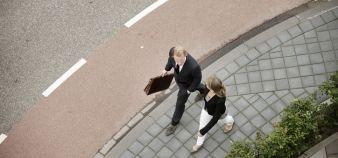 Les étudiants masculins escomptent un salaire annuel de 35.300 euros, quand les filles, elles, n'attendent que 30.400 euros. //©Plainpicture/Hollandse Hoogte/Hollandse Hoogte