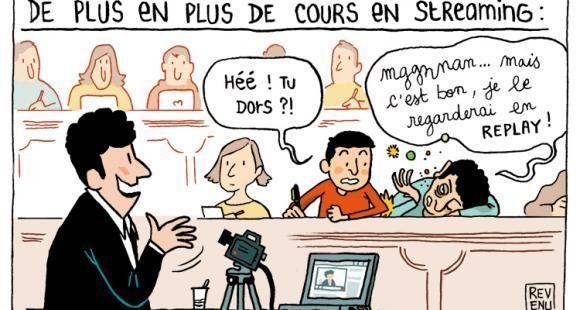 Tous les 15 jours, Julien Revenu croque l'enseignement supérieur sur EducPros