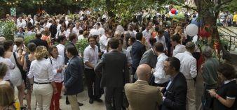 Sciences po Alumni organise chaque année une garden party, qui réunit 1.000 personnes. //©Isabelle Morison