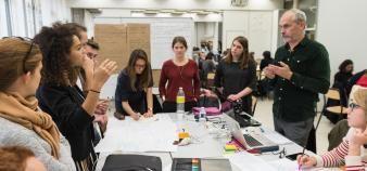 L'ambition du deuxième édition du hackathon City Lab ? Imaginer les interactions entre habitants, drones et robots dans la ville de demain. //©© A. Mahot / Audencia