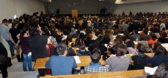 Assemblée générale à Toulouse 2 Le Mirail - 20 novembre 2014 //©Frédéric Dessort