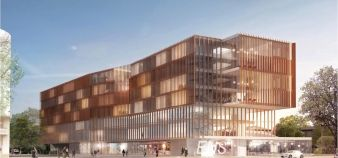 Futur campus Jourdan de Paris school of economics // © tvaa-architecte