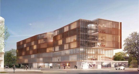 Futur campus Jourdan de Paris school of economics //©tvaa-architecte