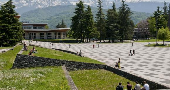 L'université Joseph-Fourier à Grenoble // © UJF