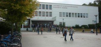 Université de Nantes - Façade fac de lettres - © Mathieu Oui 2012 //©Mathieu Oui 2012