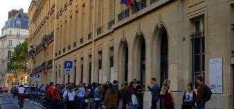 Le concours d'entrée de l'école de la rue Saint-Guillaume est voué à disparaître à l'horizon 2021-2022. //©Natacha Lefauconnier