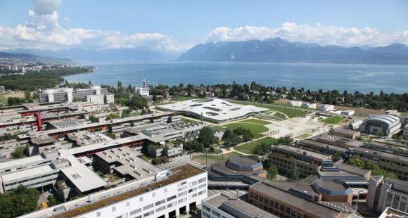 Vue du campus de l'EPFL, au bord du lac Léman © Alain Herzog - EPFL