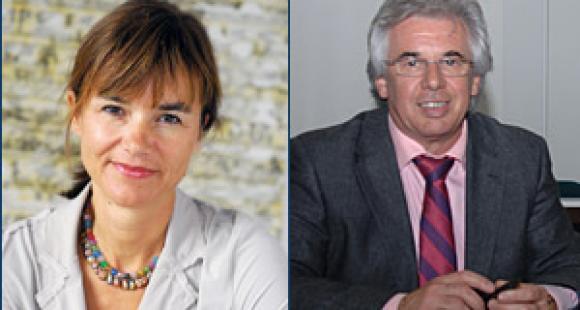 Sophie Béjean et Claude Condé