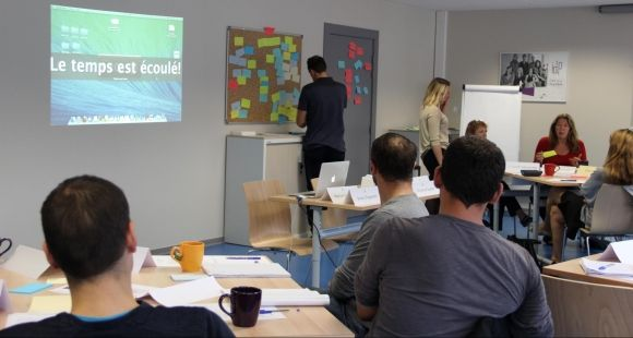 Université de Strasbourg - Atelier de formation à l'Idip - octobre 2014
