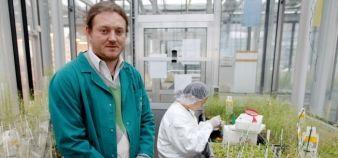 Le biologiste Olivier Voinnet vient d'être suspendu deux ans du CNRS pour fraude scientifique //©Frédéric Maigrot / REA