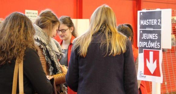 Forum Les Têtes de l'emploi - université de Nantes - décembre 2015